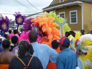 The Culture: Mardi Gras Day 2008 in Treme, New Orleans, Louisiana