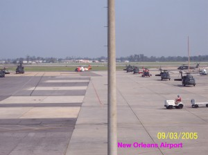 MSY west tarmac - 9.3.05
