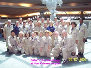 DMAT CA-4 at Louis B. Armstrong Intl Airport on 9.7.05
