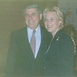 Nebraska US Senator Ben Nelson and Louisiana US Senator Mary Landrieu