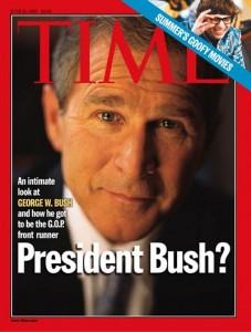Texas Gov. George W. Bush in 1999