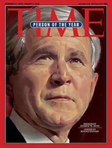 "Pres. Bush ""2004 Person of the Year"""