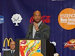 May. Ray Nagin and Lt. Gov. Mitch Landrieu announcing the return of the Essence Festival to New Orleans in 2007