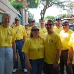 Voluntourists in the French Quarters
