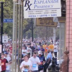 Crescent City Classic Marathon coming up Esplanade Ave. in Treme
