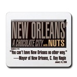 "Lampooning in response to Mayor Nagin's MLK Day ""Chocolate City"" remark"
