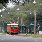 New Orleans RTA streetcar